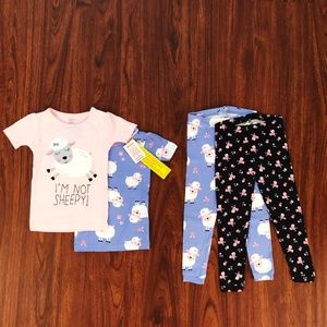Just One You by Carter's Set of 4 Girls Pajama Set